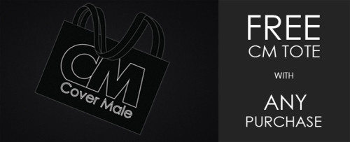 Enjoy this offer from Cover Male to you.  Free beach tote with any purchase, but hurry, it's only while supplies last!
