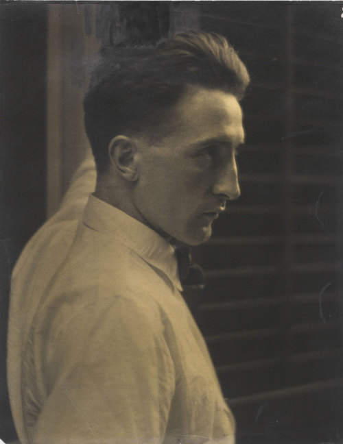 One of the most innovative artists of our time, Marcel Duchamp was born on this day, July 28, 1887. We're fortunate enough to be home to a world-renowned collection of his work and ephemera, including Étant Donnés, The Large Glass, and numerous paintings, photographs, and ready mades. And if you really want to celebrate the legacy of Duchamp and his undeniable influence on the history of modern art, then mark your calendar for Dancing around the Bride: John Cage, Merce Cunningham, Jasper Johns, Robert Rauschenberg, and Marcel Duchamp, opening October 30th!