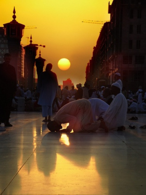 this-banal-life:  Muslim praying