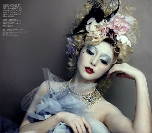 a great image of fan bingbing from china vogue