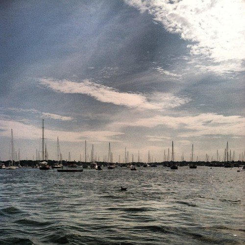 On a boat to see Wilco! (Taken with Instagram)
