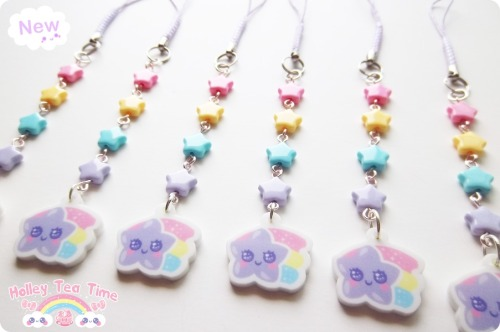 holleyteatime:  (≧∇≦)/ ☆ Magical cell charms ♪  ☆ Shooting Star Cell charm ☆彡