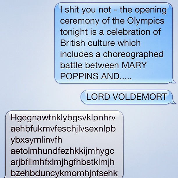The only appropriate reaction from @lornajrb  (Taken with Instagram)