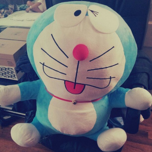 samssushibar:  #bigass #Doraemon (Taken with Instagram)