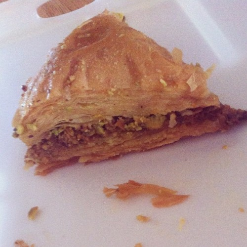 Baklava #foodie #foodporn #summer #greek #bse (Taken with Instagram)