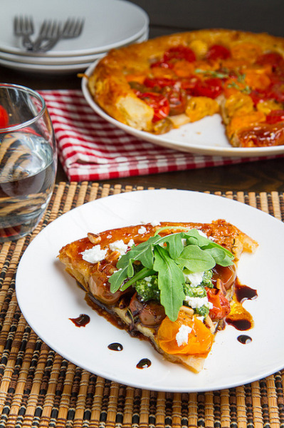 Tomato Tatin by Kevin - Closet Cooking on Flickr.