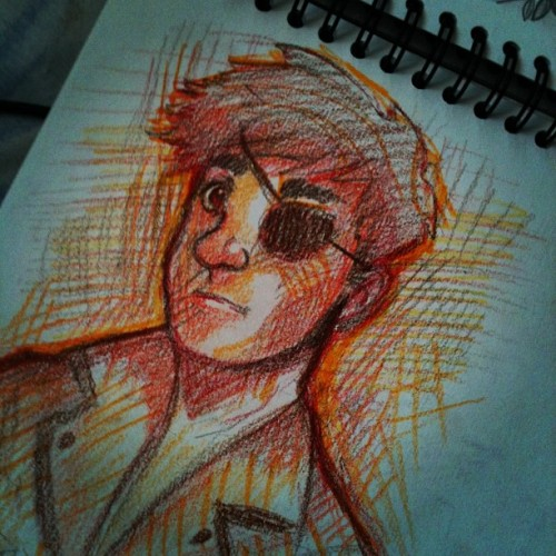 abajodeuncerezo:  Sketch #art #animation #tumblr #instagram #photo #sketch #colors  (Tomada con Instagram)