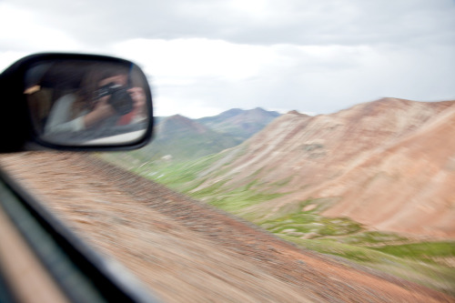 California Pass near Silverton, Colorado July 2012