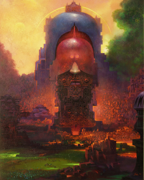 moonzerotwo:  Monument to the Oppressor - Paul Lehr