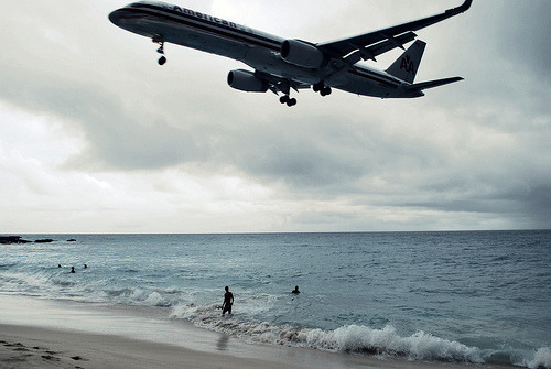 the best plane spotting locale in the world? #sxm