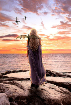 Mother of Dragons by ~Seawad