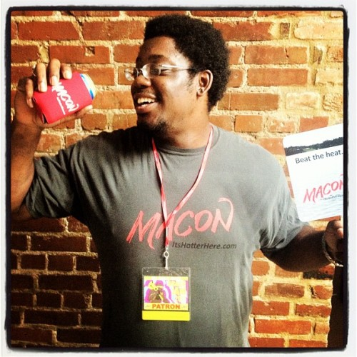 The winner of #GatewayMacon's VIP #BraggJam Giveaway: Joel Smith (Taken with Instagram at SoChi Gallery)