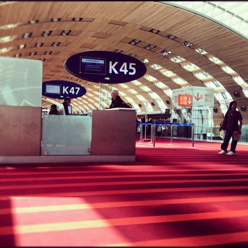 CDG Terminal 2E (Taken with Instagram)