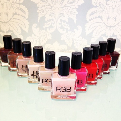 RGB nail polish found at @blossomlounge (Taken with Instagram)