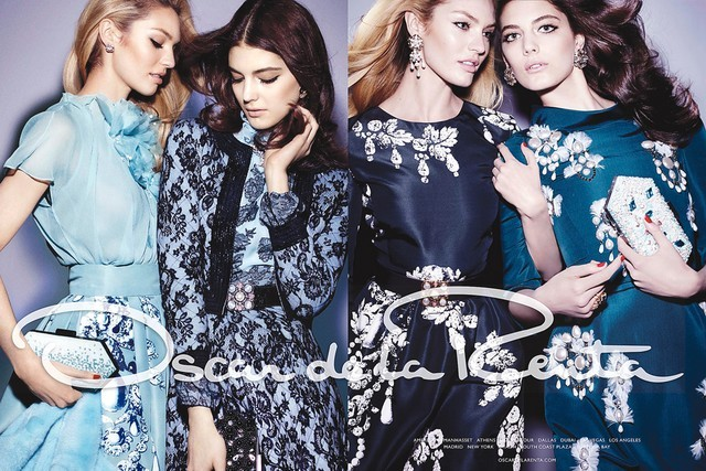 Hellloooo fall ad campaigns! Love this one featuring South African beauties Candice Swanepoel and Katryn Kruger, shot by Craig McDean and styled by Alex White. -RS (image via fashiongoneroge)