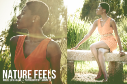 """Nature Feels"" Model: LA Johnson Photography by: Antunltd http://antunltd.tumblr.com"