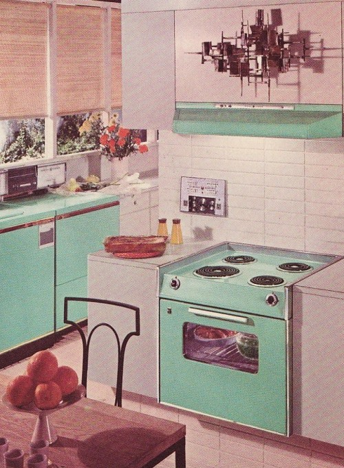 GE appliance advertisement, 1963