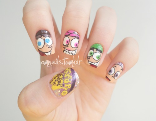 Fairly Odd Parents (facebook) (omnails)