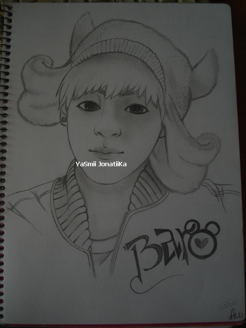 My best friend made this drawing of  Baro only for me *-*  I love it