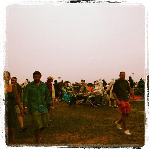 This rain can't last.  Newport Folk  (Taken with Instagram)