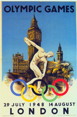fuckyeahlatinamericanhistory:  Latin America at the 1948 London Olympics A total of nine nations from Latin America competed in the Summer Olympic games held in London sixty four years ago.  Argentina sent the largest number of athletes (199) and won the most medals (7), including gold for men's marathon and boxing. Brazil and Cuba each won a single medal: a bronze in men's basketball for Brazil, and a silver in sailing for Cuba.  Chile and Colombia also participated but left without any medals. Mexico won five medals, four of them in equestrian events. Humberto Mariles, an officer in the Mexican military, became the first and only Mexican athlete to win two gold medals at the Olympics. Mexico's most successful Olympic athlete, diver Joaquín Capilla, won the first of his four career Olympic medals at the 1948 London games. Panama sent only one athlete to the 1948 London Olympics, sprinter Lloyd La Beach, and he came away with two medals, both bronze, becoming his country's first ever Olympic medalist. Peru's sport shooter Edwin Vázquez Cam won his country's first and only Olympic gold medal in London.  The 1948 London games were Puerto Rico's first Olympics. The island came away with its first Olympic medal, a bronze for boxer Julio Evangelista Venegas. All of Puerto Rico's Olympic medals so far have been in boxing.  Venezuela sent its first athlete to the Olympics that year, a cyclist named Julio César León, but he came away without any medals. London also hosted the 1908 Olympics, but there were no Latin American competitors that year, unlike the 1904 and the 1900 games.