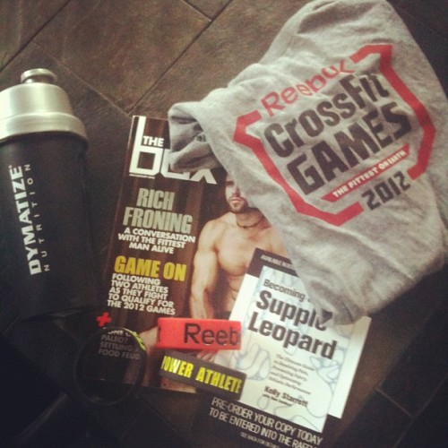 Thanks to @rjochems3 and @rstevenson26 for my CrossFit Games 2012 swag pak! (Taken with Instagram)