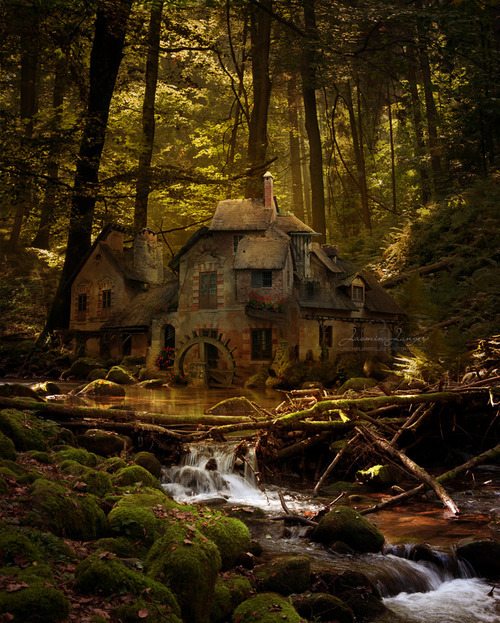 mrdreadful:  ;_;  Not sure if this is a real place, but I want to live here so hard.