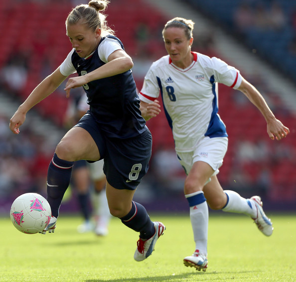 olympicfever2012:  Amy Shilling USA v France