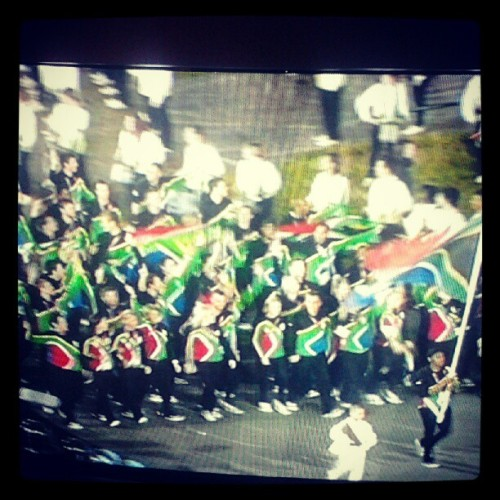 South African Team :) #olympics2012 (Taken with Instagram)