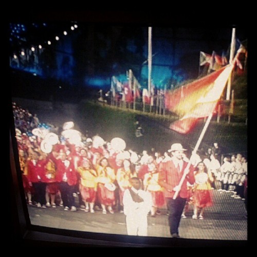 Spain's team :) #olympics2012  (Taken with Instagram)