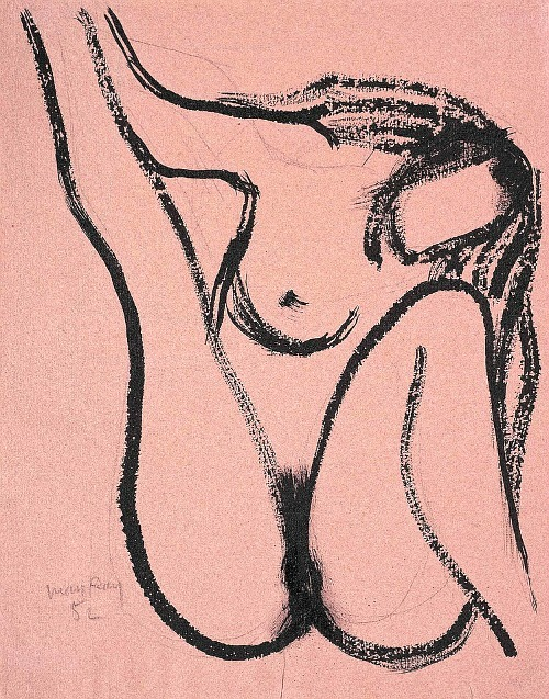 La vierge by Man Ray, 1952Also