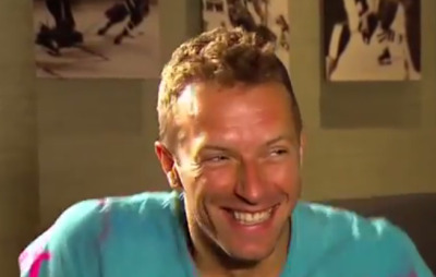 chris martin's reaction to finding out he is harry styles' hero.