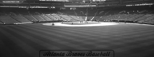 Atlanta Braves Baseball Facebook Cover