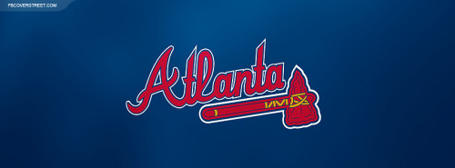 Atlanta Braves Logo 3 Facebook Cover