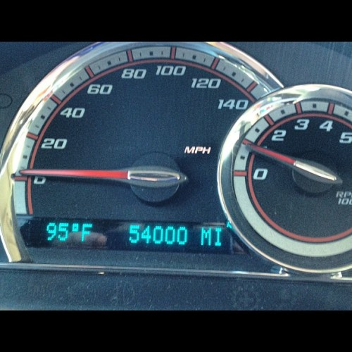 She is growing up so fast! #chevy #hhr ##2008 #SS (Taken with Instagram)