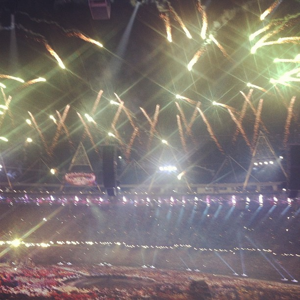 Taken with Instagram at 2012 London Olympics Opening Ceremony