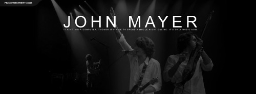 John Mayer Facebook Covers
