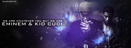 Eminem And Kid Cudi Facebook Cover