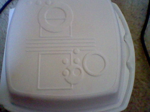 ask-theharbingerofdoom:  omfg, the takeout container I got my sushi in is from Gallifrey.