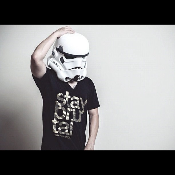 I'm so glad I bought this helmet. #staybrutal #stormtrooper (Taken with Instagram)