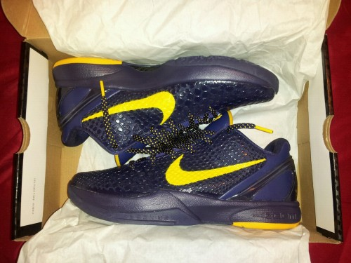 one of my latest pickup nike zoom kobe VI imperial purple / del solhttp://omarbonsai.tumblr.com/