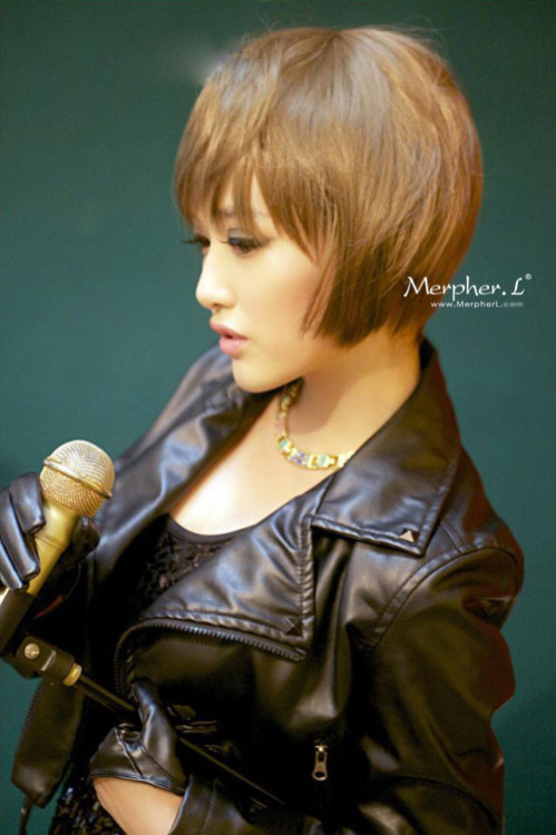 Fashion Short Natural Straight Kanekalon Wig Hairpiece Skin Top Design  shop from Merpher.L