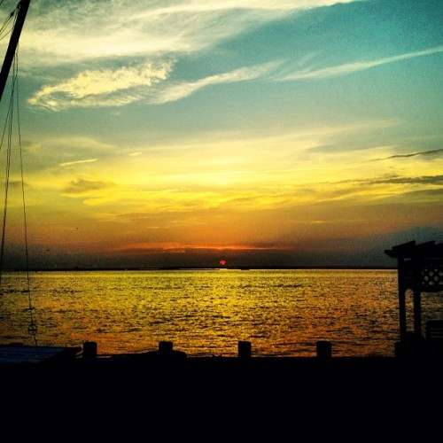 #sunset at #lbi (Taken with Instagram)