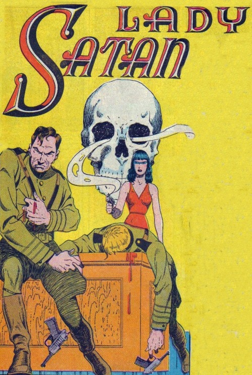 vintagecoolillustrated:  Lady Satan!