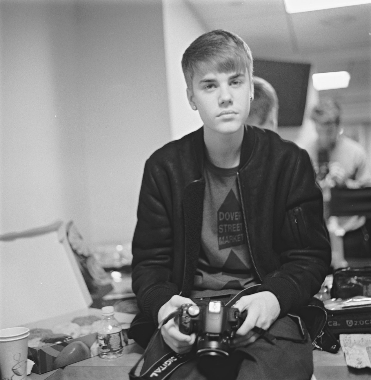 Bieber and a Canon (by Mike Lerner)