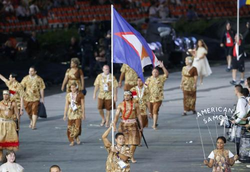 teinemanukan:  American Samoa at the 2012 London Olympic Games. GO SAMOA!