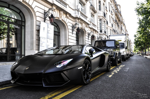 visualcocaine:  All Black Gang. By ZellusCars