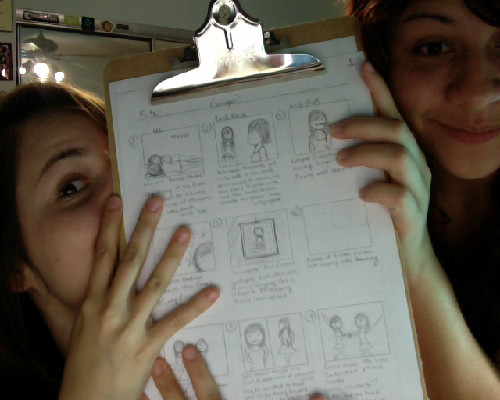 Story-boarding in preparation for our next film! Stay tuned MUCH more to come.