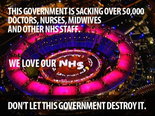 We love our NHS.