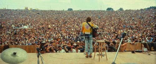 Woodstock….Stage View